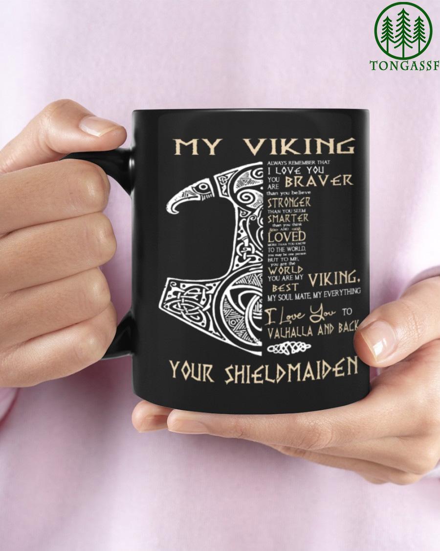 Shieldmaiden Viking Mug