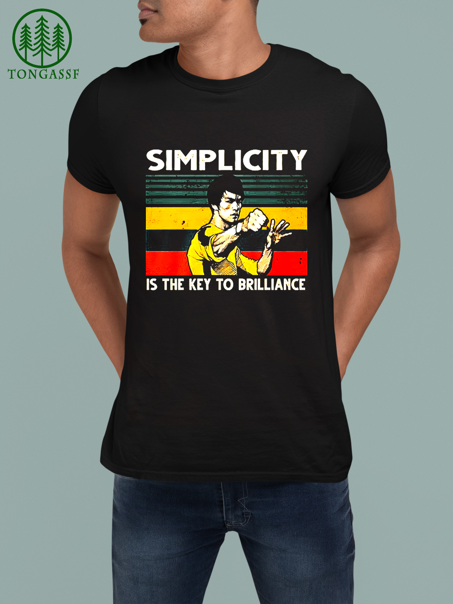 Simplicity is the key to brilliance shirt
