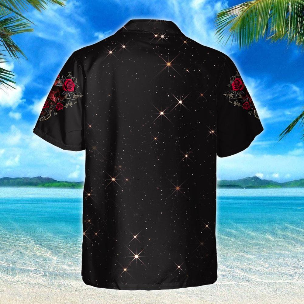 Skull Roses Hawaiian Shirt 3