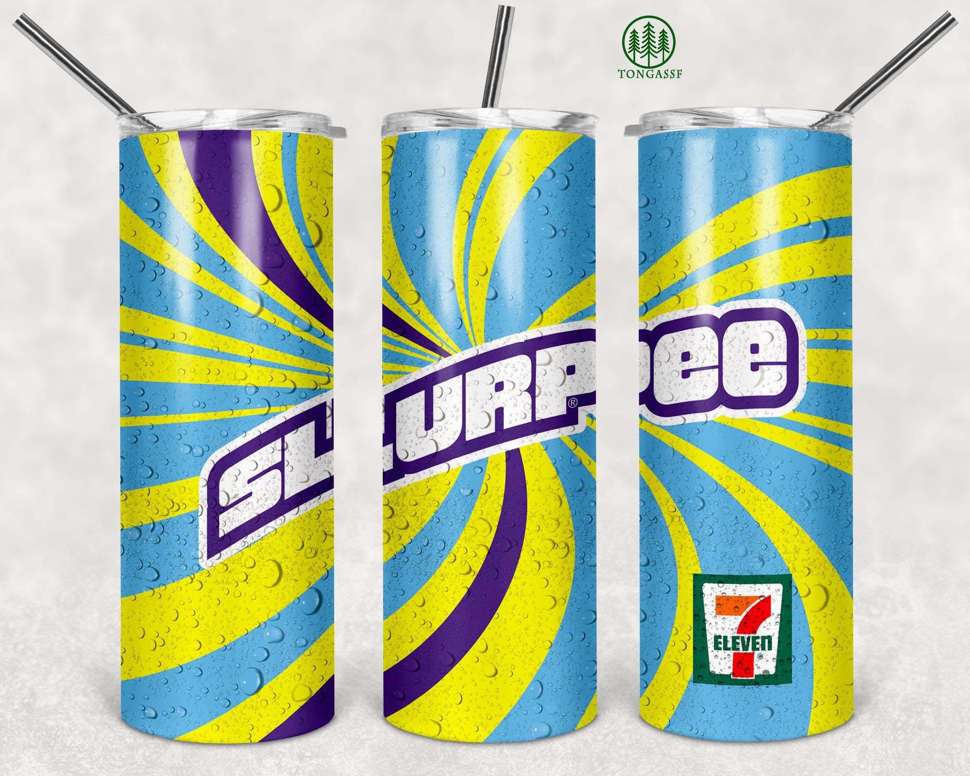 Slurpee 7 Eleven Skinny Tumbler