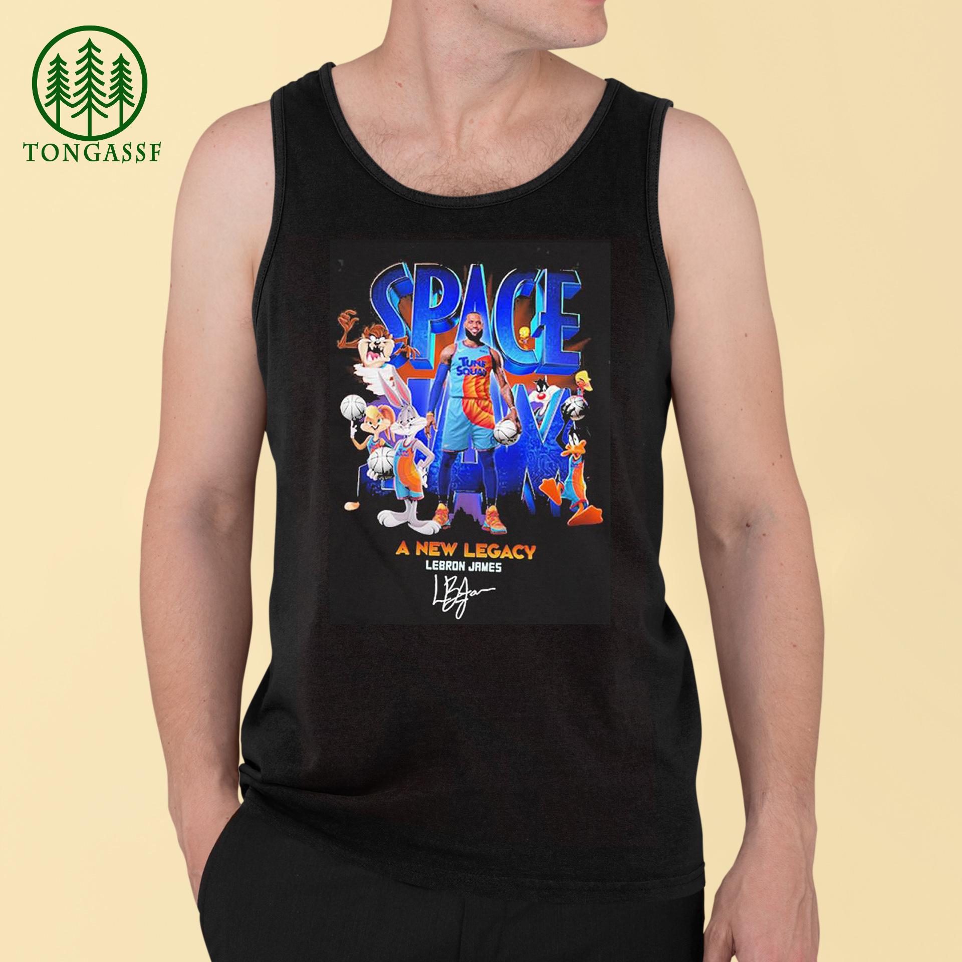 Space jam a new legacy lebron james signature Shirt