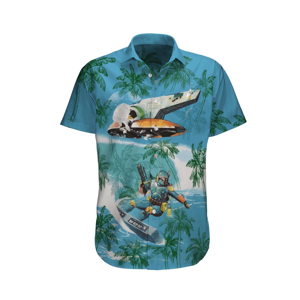 Star Wars Soldier And UFO Hawaiian Shirt