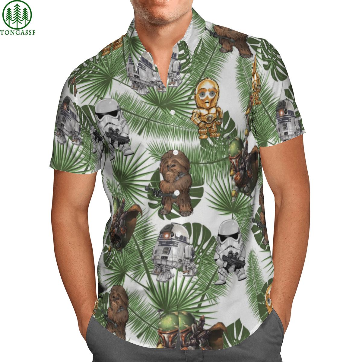 Star war Hawai Shirt 3D 001