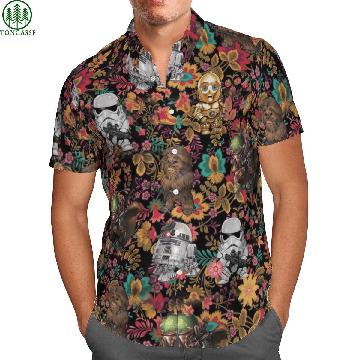 Star war Hawai Shirt 3D