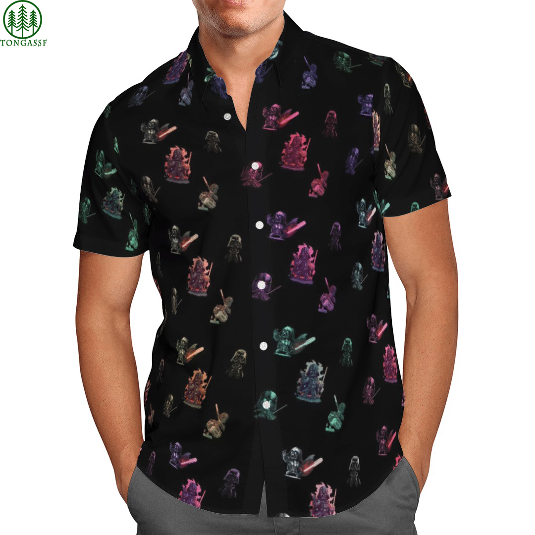 Star wars hawaiian Darth Vader paradigm shirt