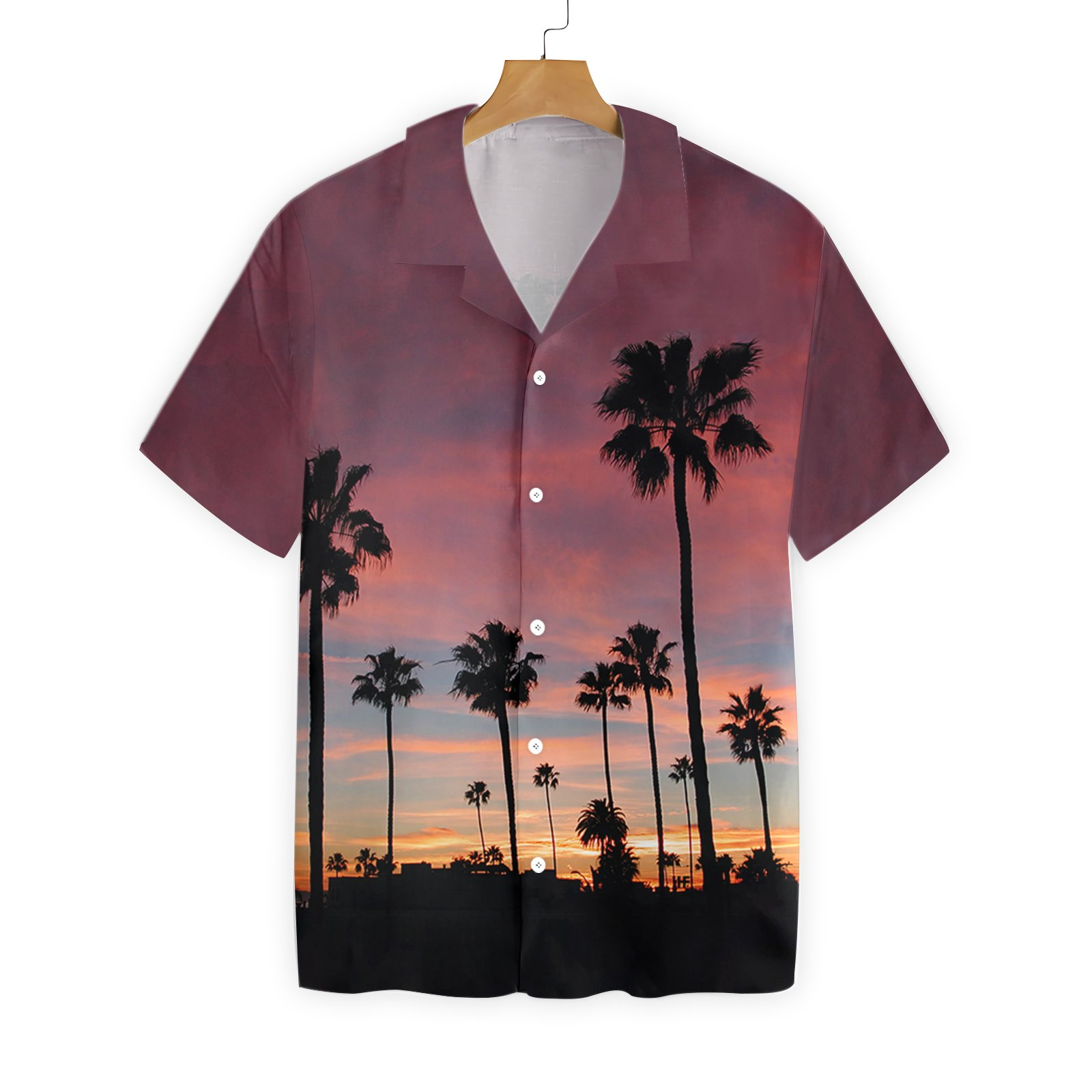 Sunset Venice Beach Hawaiian Shirt Summer Shirt 2