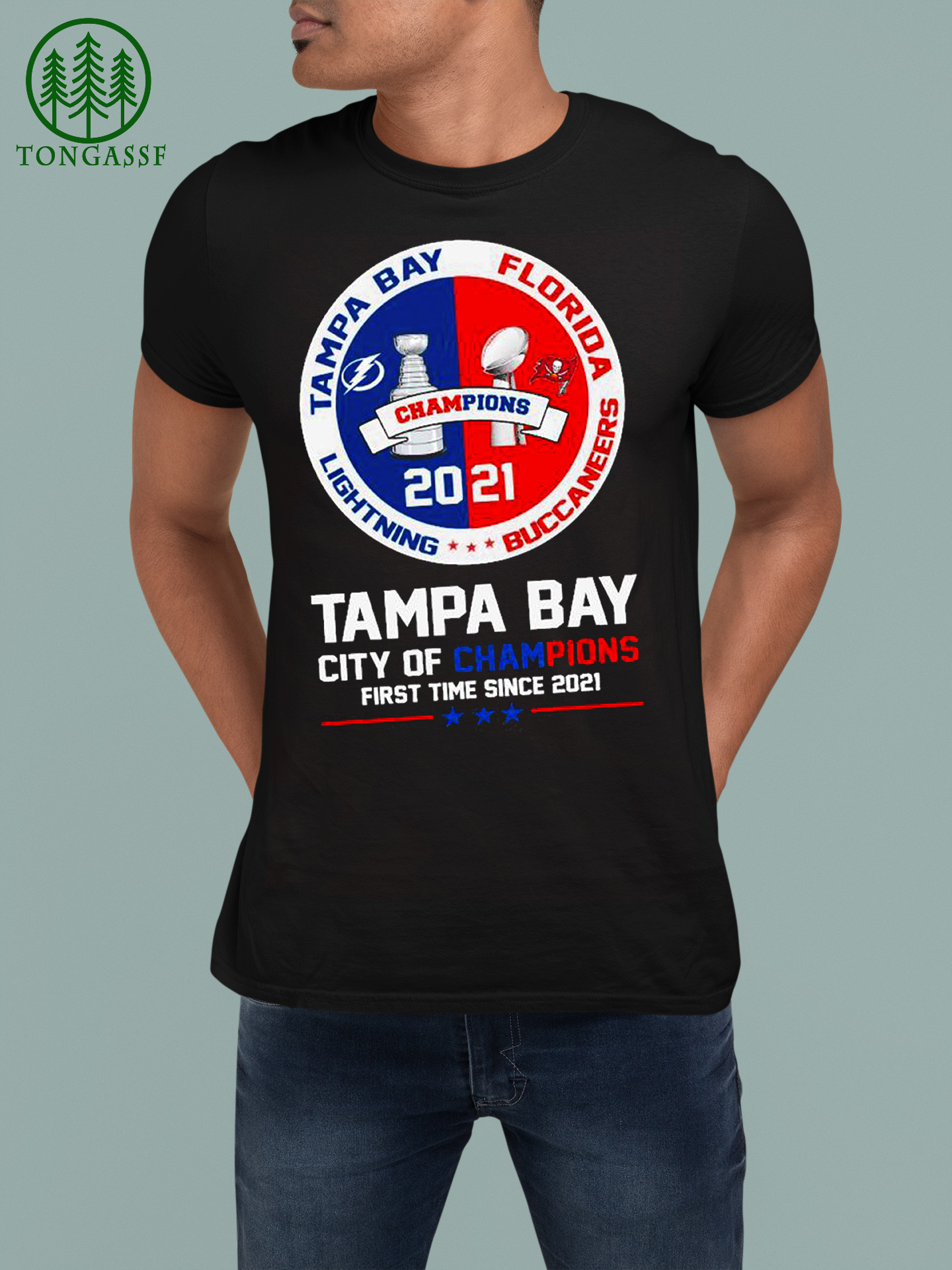 Tampa Bay Florida lighting Buccaneers Tampa Bay City of champions first time since 2021 shirt (2)