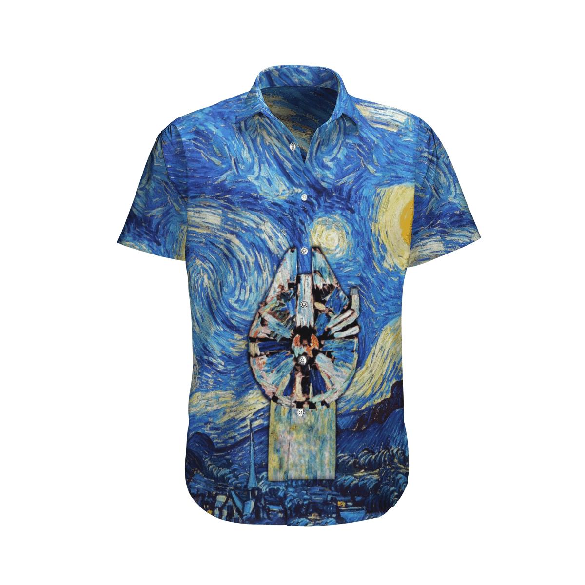 Star wars Object in fade paiting Hawaiian Shirt