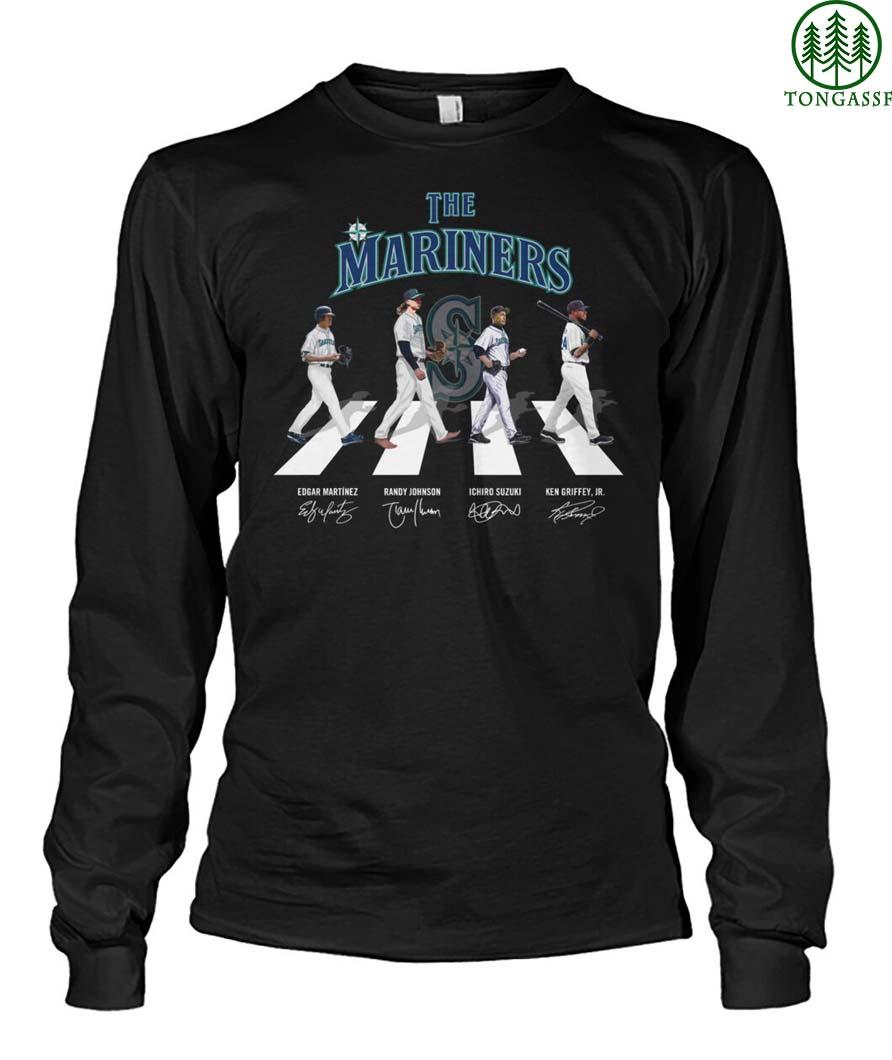 The Mariners baseball team shirts