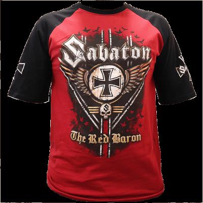 The Red Baron Sabaton Raglan T shirt 3D