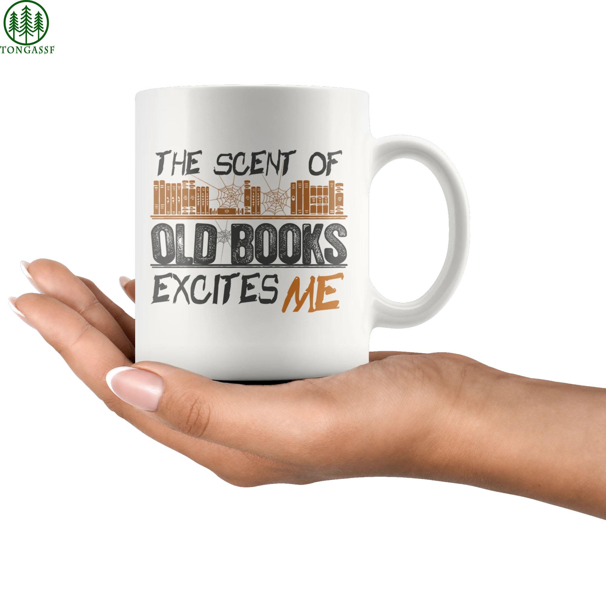 The Scent Of Old Books ceramic Mug