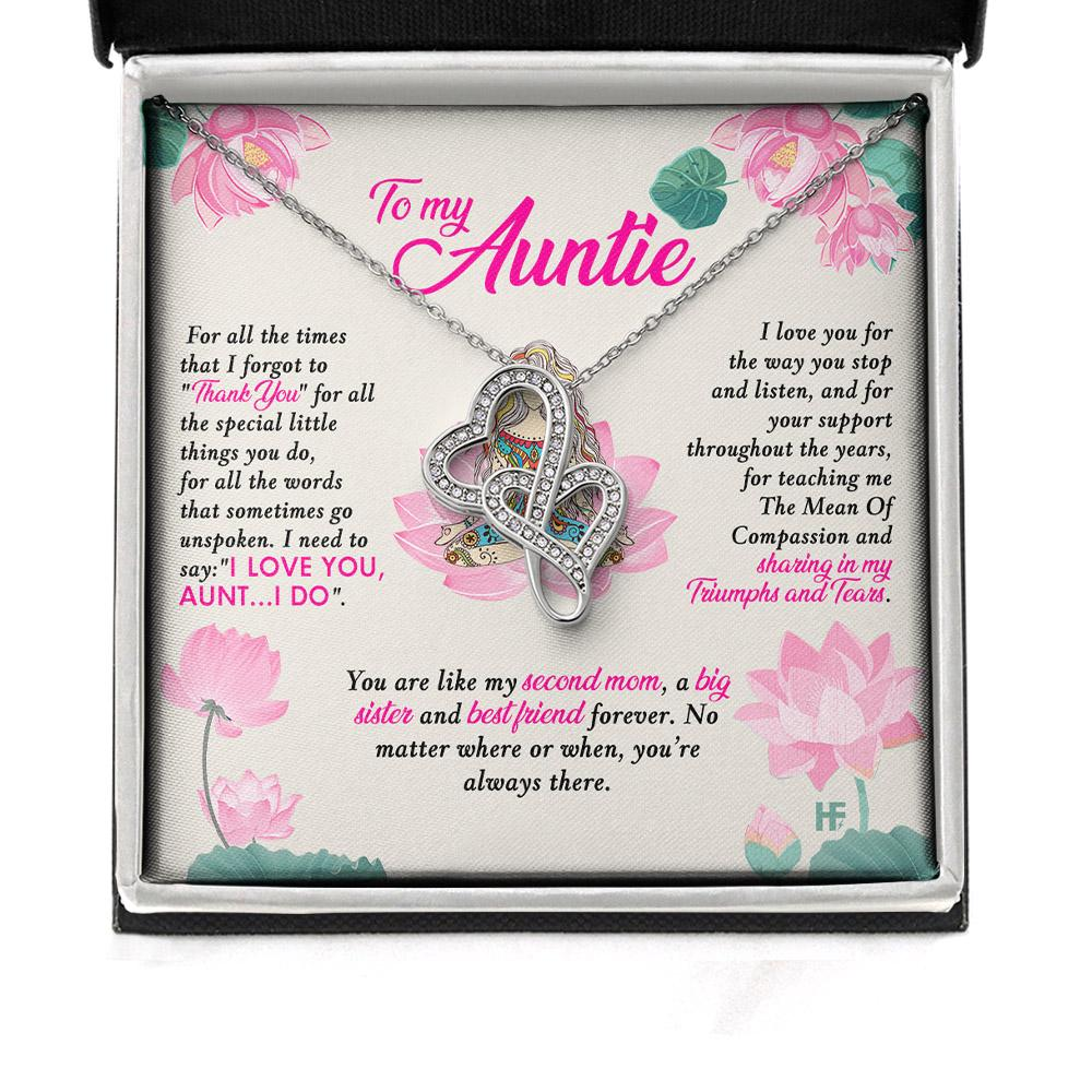 To My Auntie You Are Like My Second Mom Alluring Necklace 2