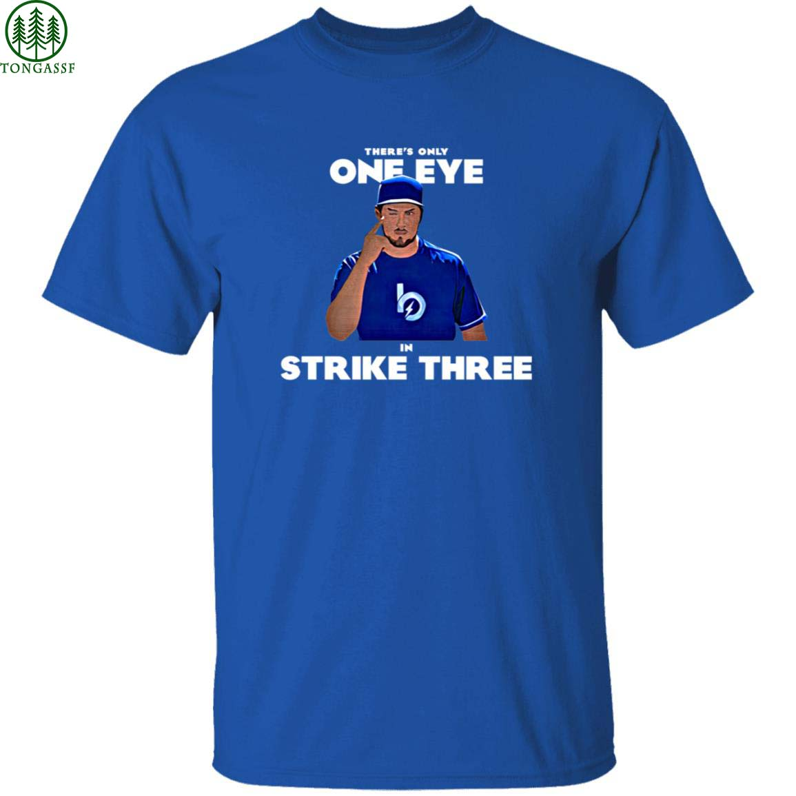 Trevor Bauer there is only one eye in strike three shirt