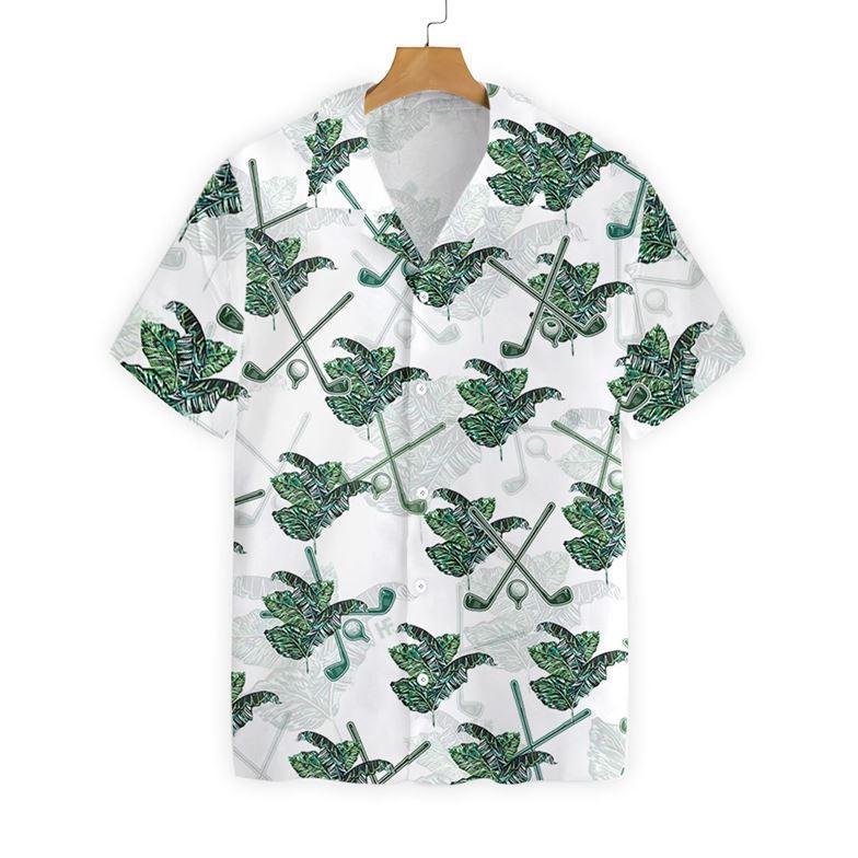 Tropical Golf 3D Hawaiian Shirt