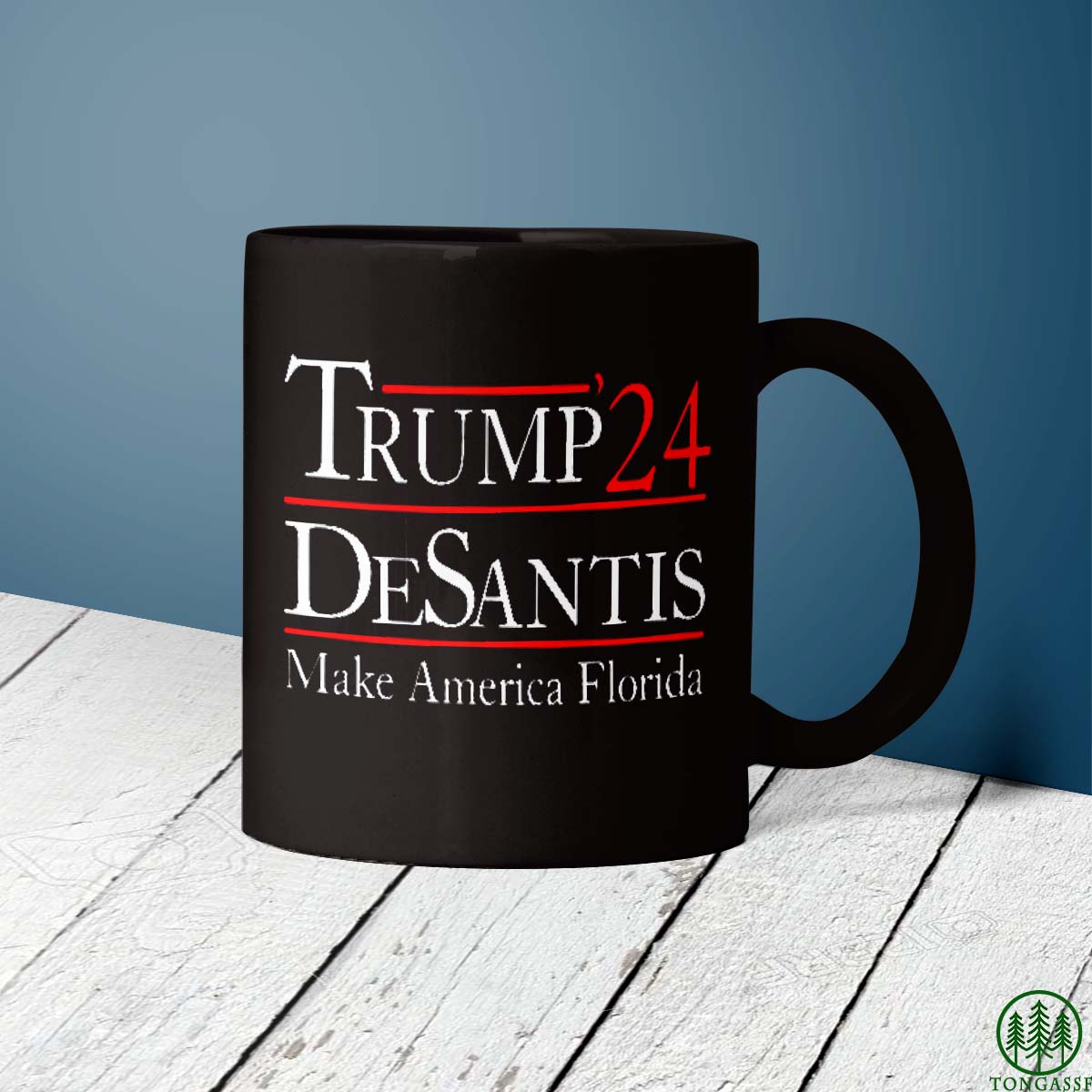 Trump 2024 DeSantis Make America Florida Mug