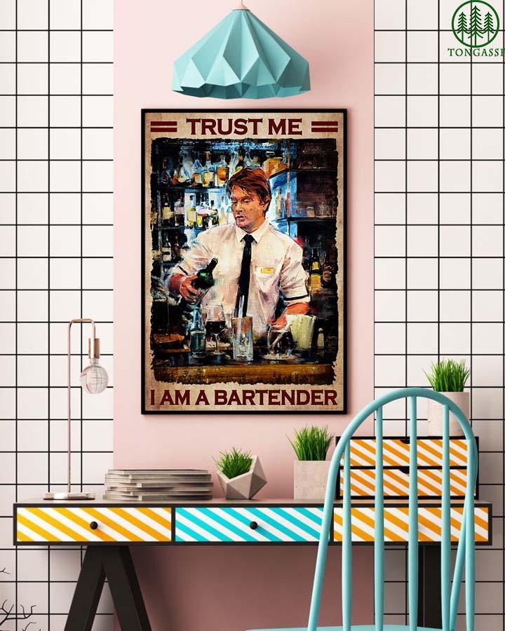 Trust me I am a bartender poster