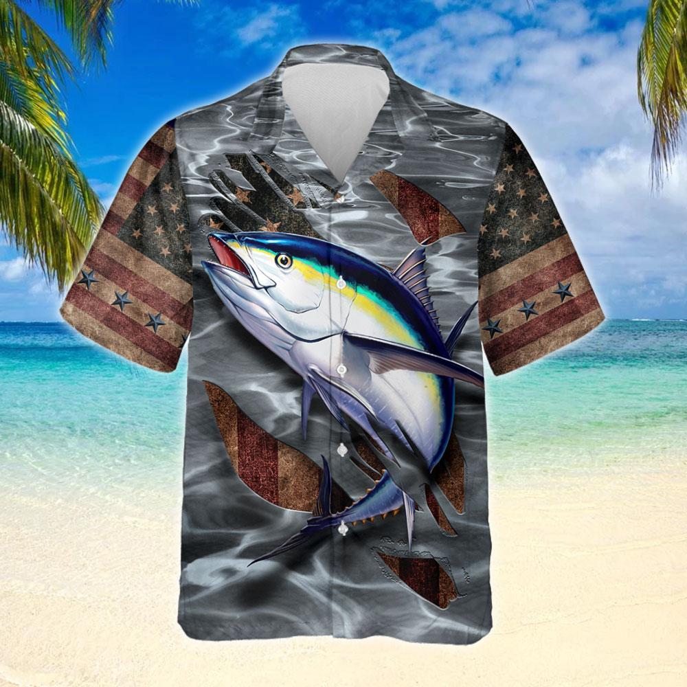 Tuna Fishing Hawaiian Shirt 2