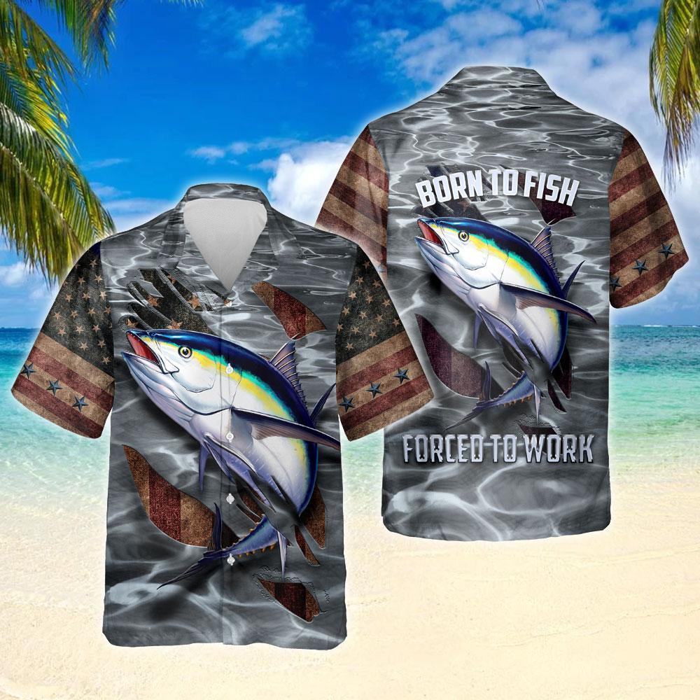 Tuna Fishing Hawaiian Shirt