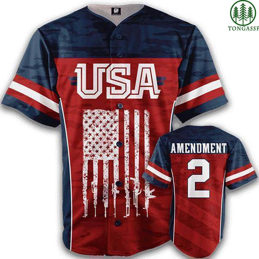 USA We the people baseball jersey shirt