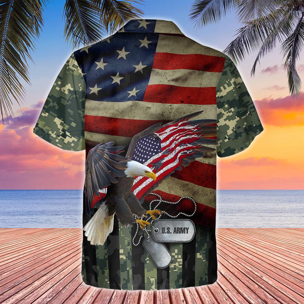 United States Army Hawaiian Shirt 3