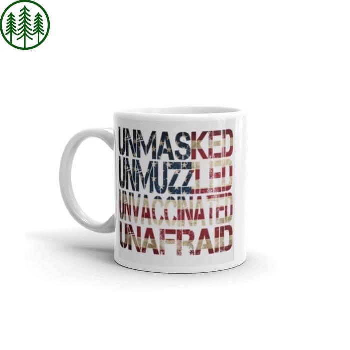 Unmasked Mug
