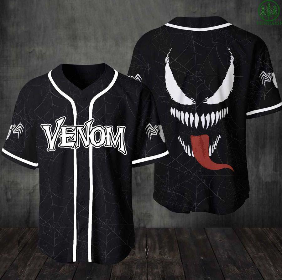Venom baseball Jersey Shirt