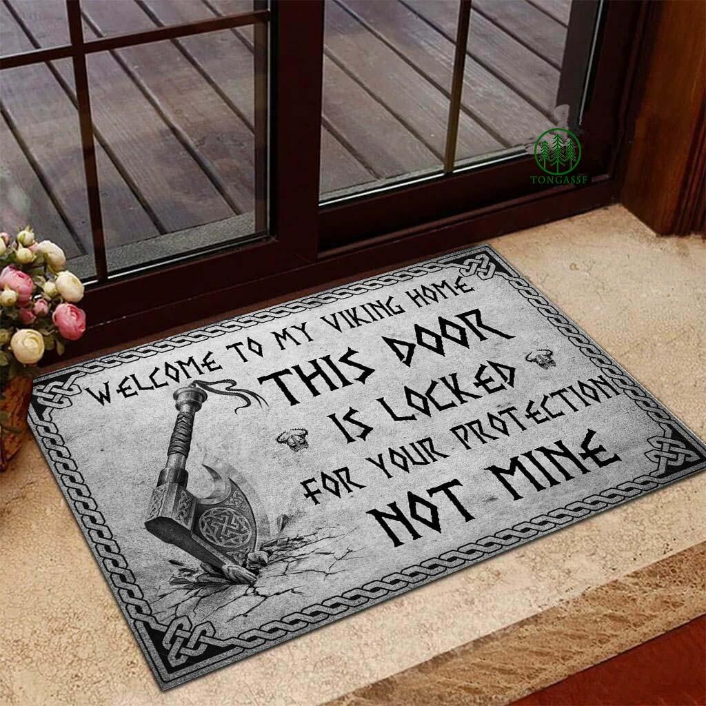 Viking Welcome to my Viking Home Doormat