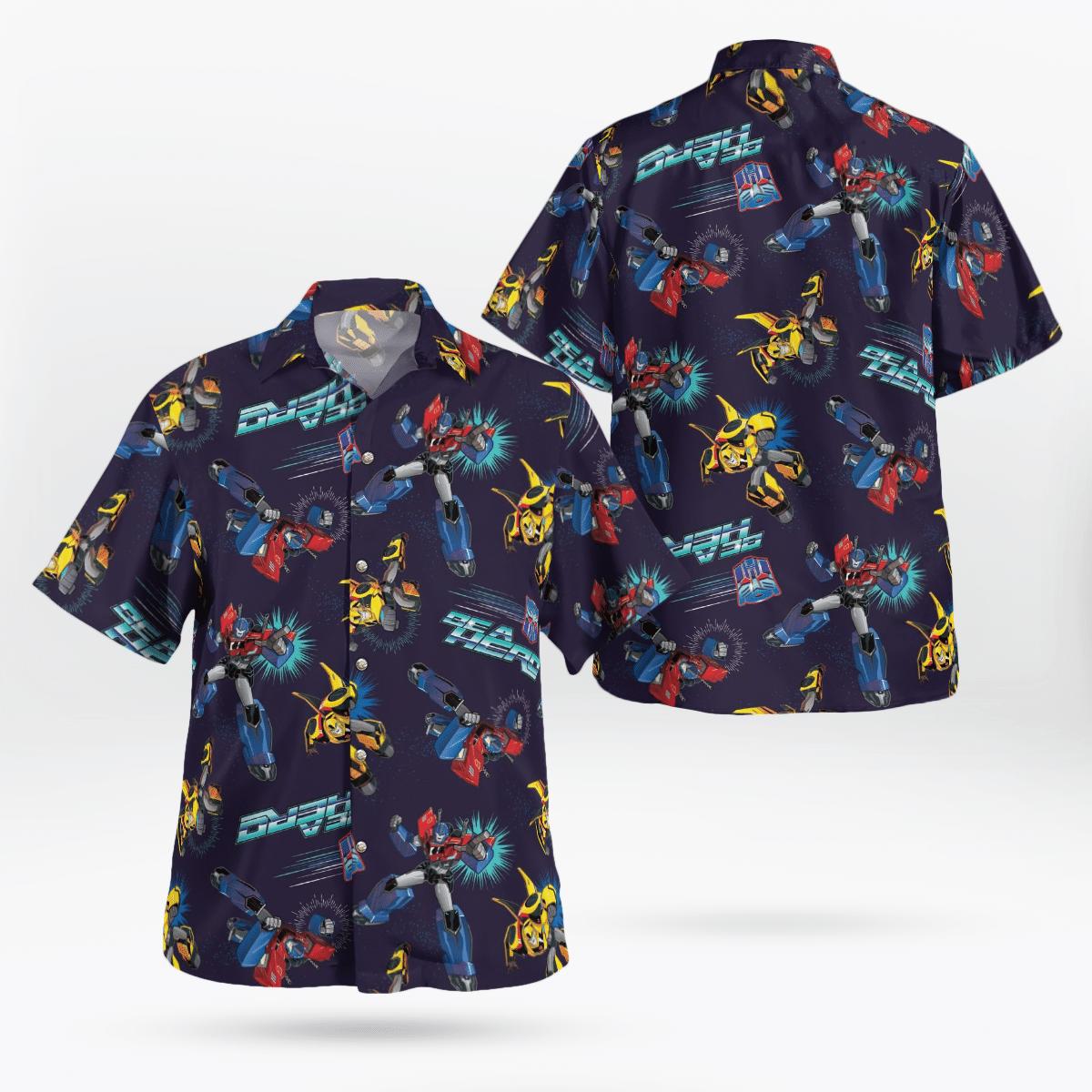 Transformers BEA Hero Hawaiian Shirts Summer Shirt