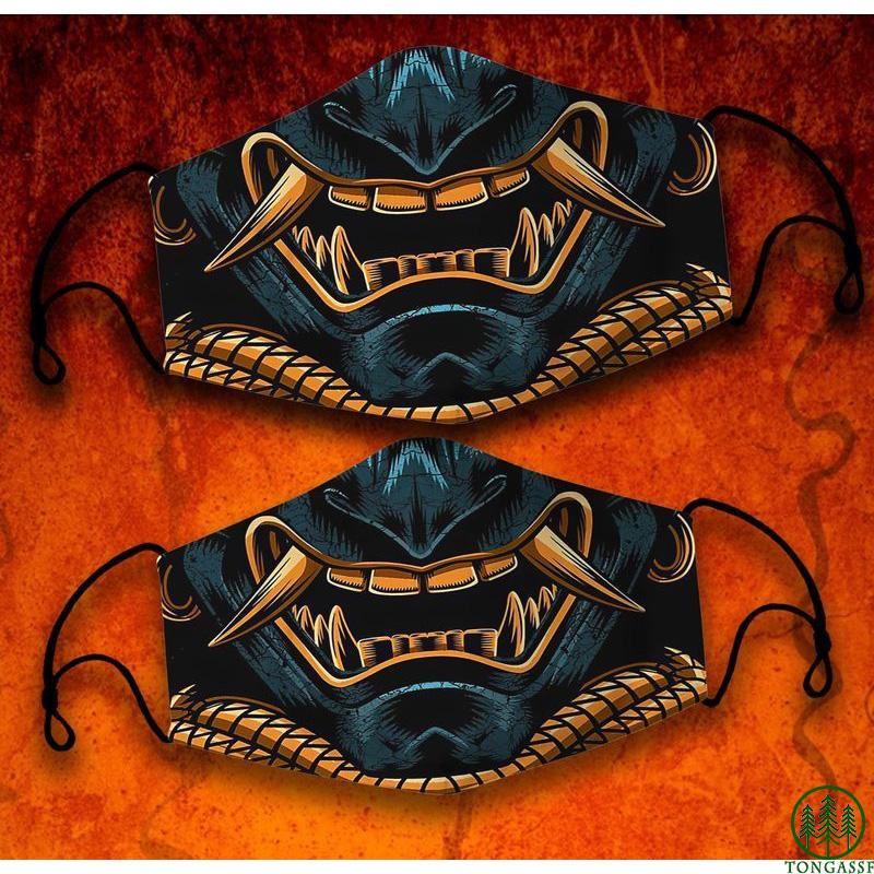 Way of the samurai face mask