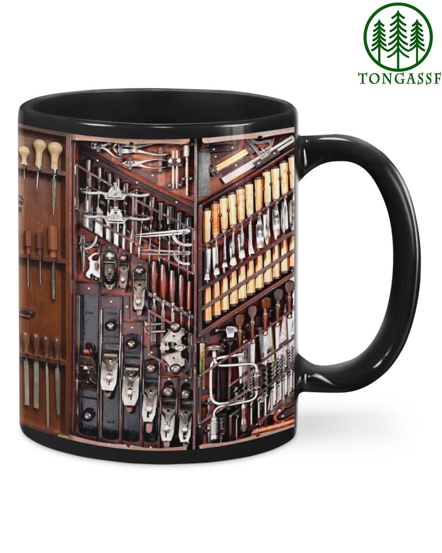 Wood Carpenter Tools Mug