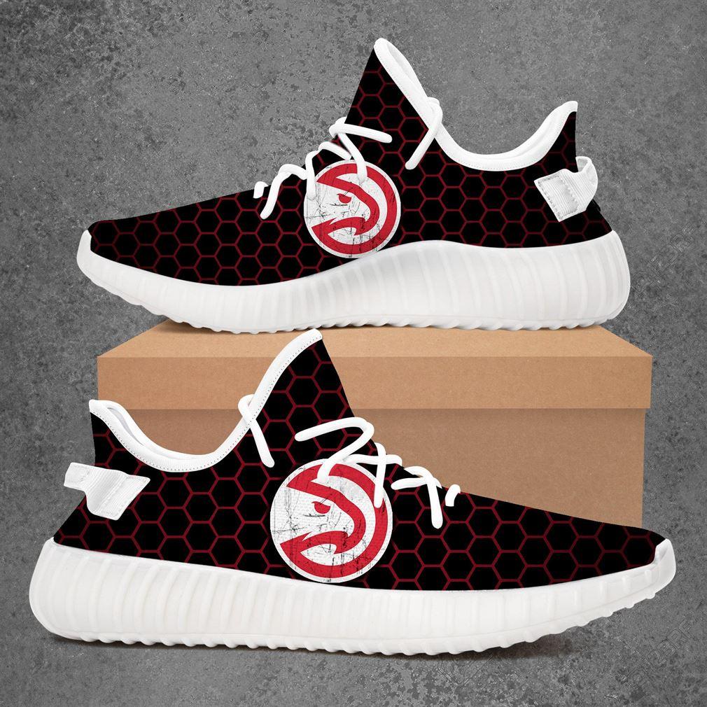 Atlanta Hawks NBA Basketball Adidas Yeezy Sneakers Shoes