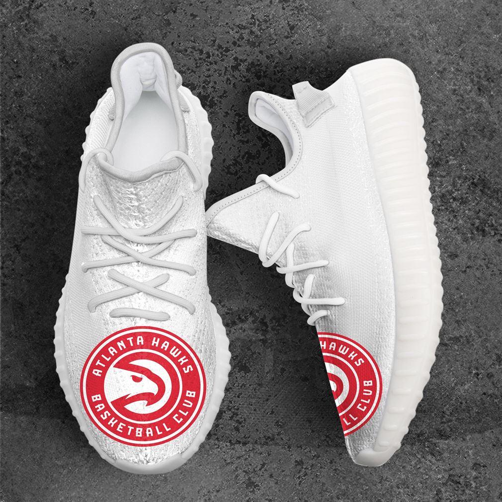 Atlanta Hawks NBA Sport Team Yeezy Sneakers Shoes