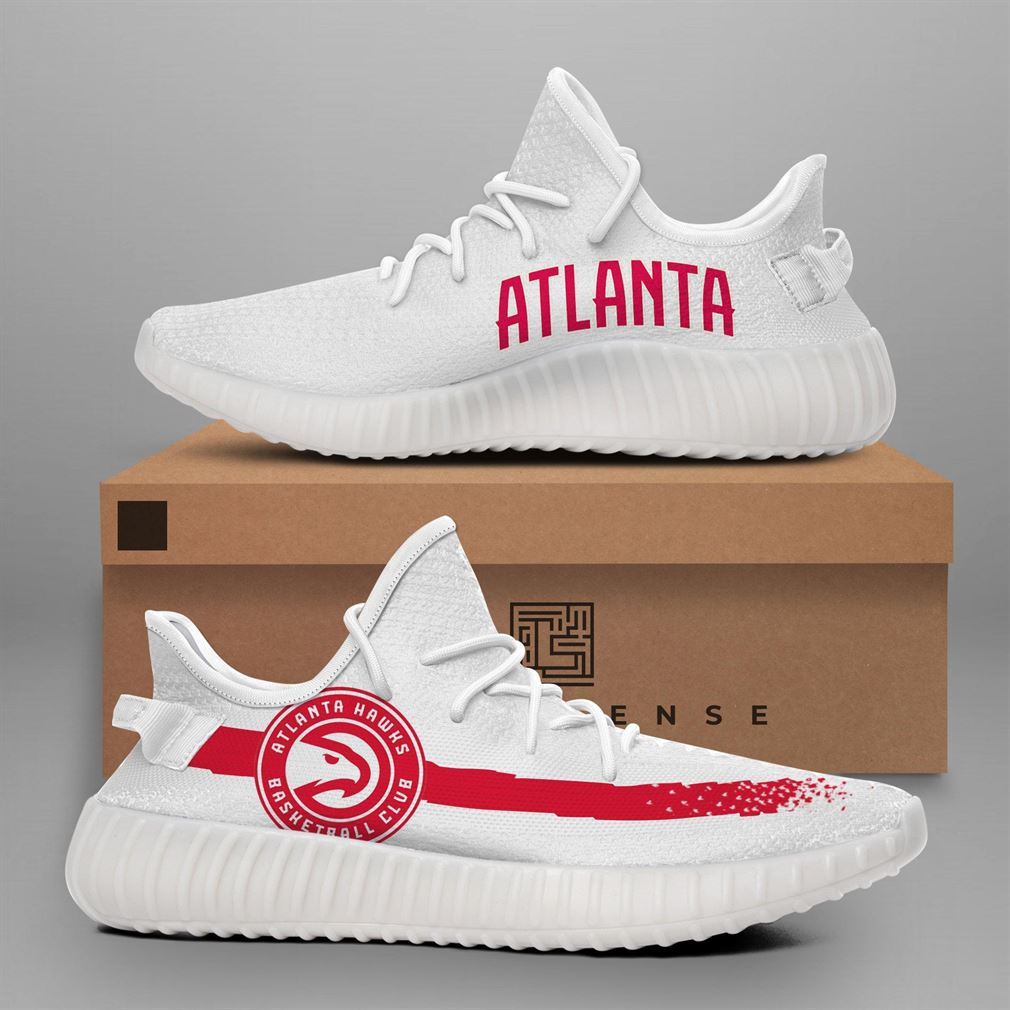 Atlanta Hawks Nba Teams Yeezy Sneakers Shoes