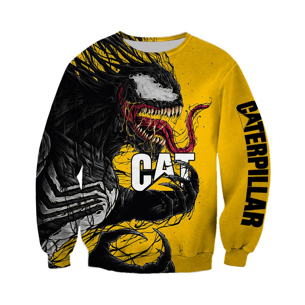 Venom Catterpillar Halloween 3D Sweatshirt