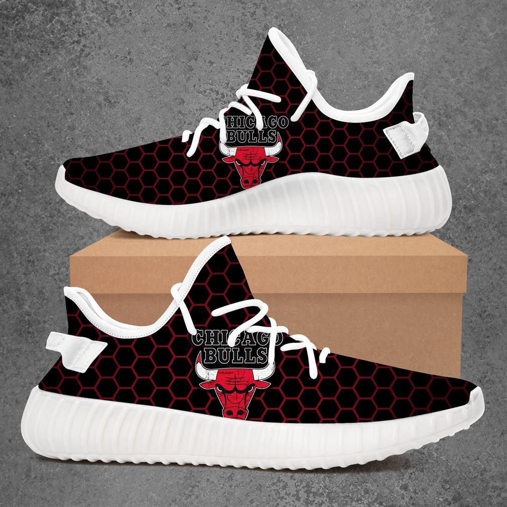 Chicago Bulls NBA Basketball Adidas Yeezy Sneakers Shoes