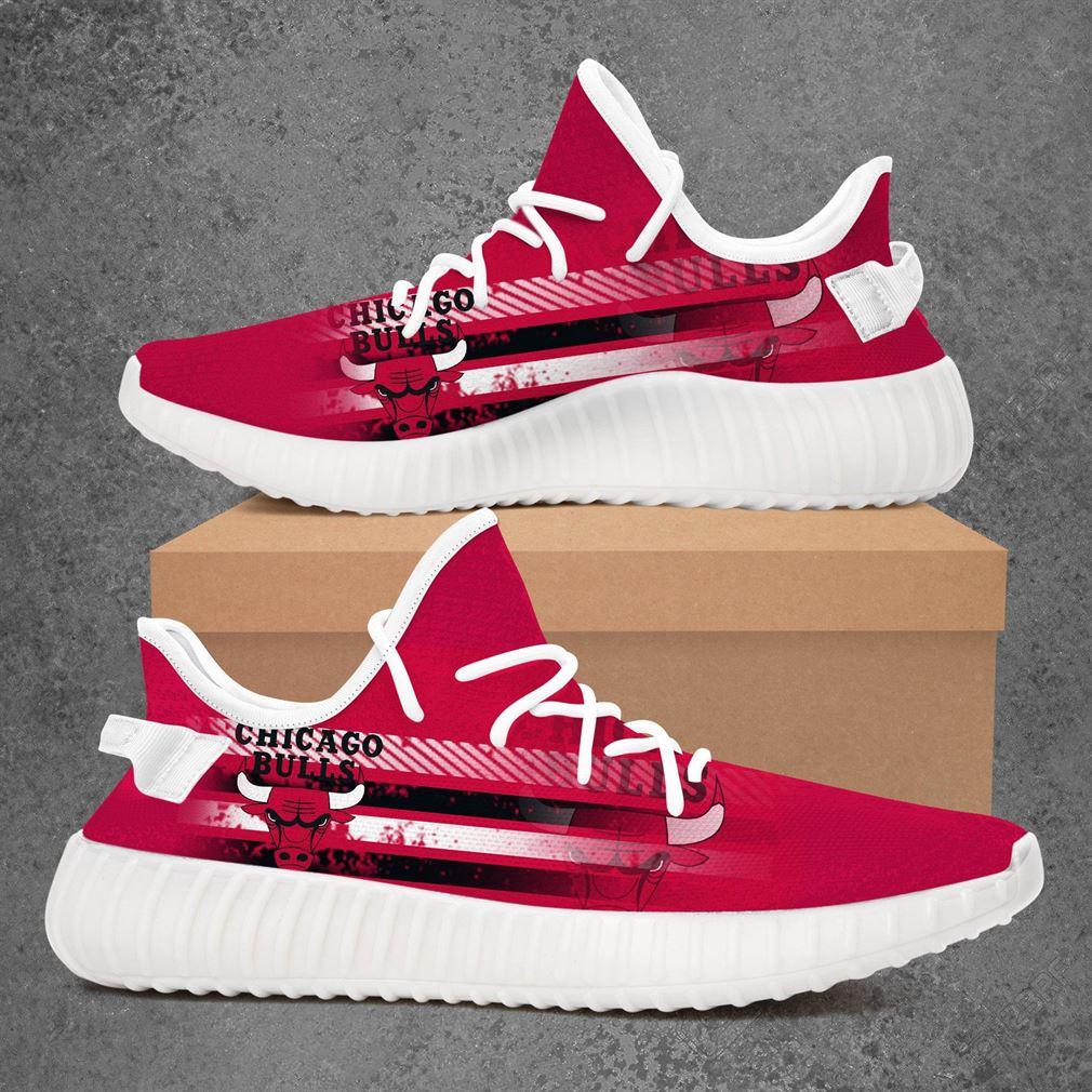 Chicago Bulls NBA Sport Teams Yeezy Sneakers Shoes