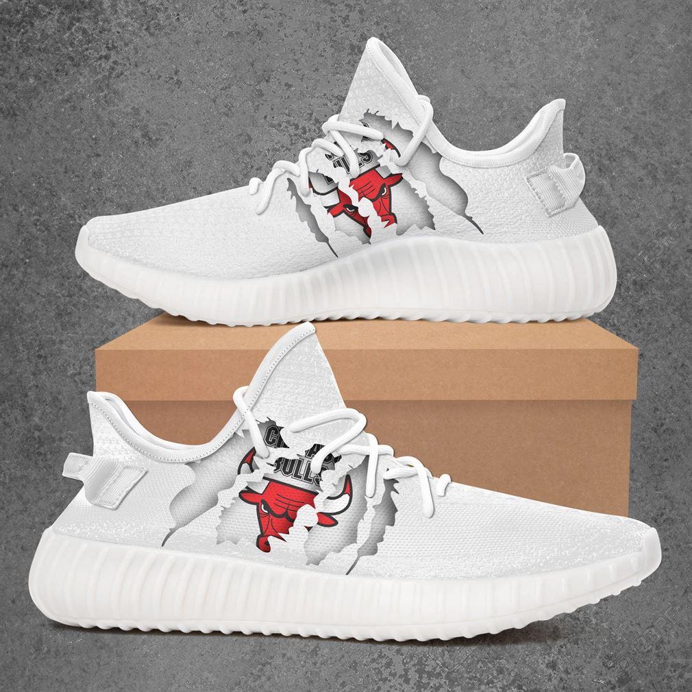 Chicago Bulls NBA Basketball Yeezy Sneakers Shoes