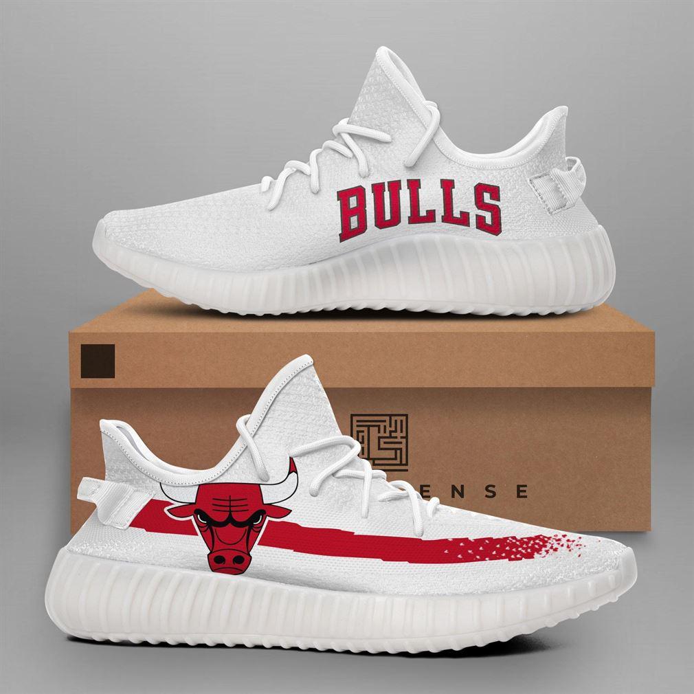 Chicago Bulls Nba Teams Running Yeezy Sneakers Shoes