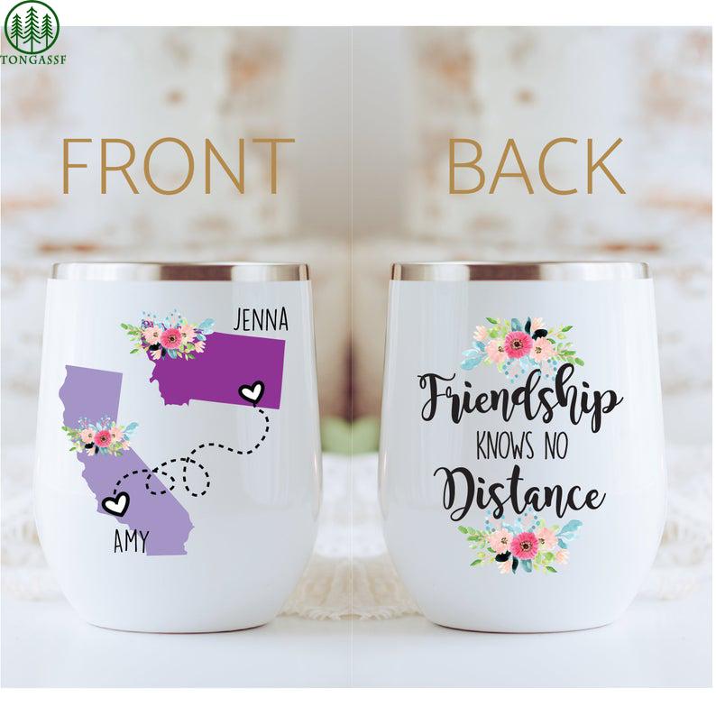 Customized Friendship Long Distance tumbler