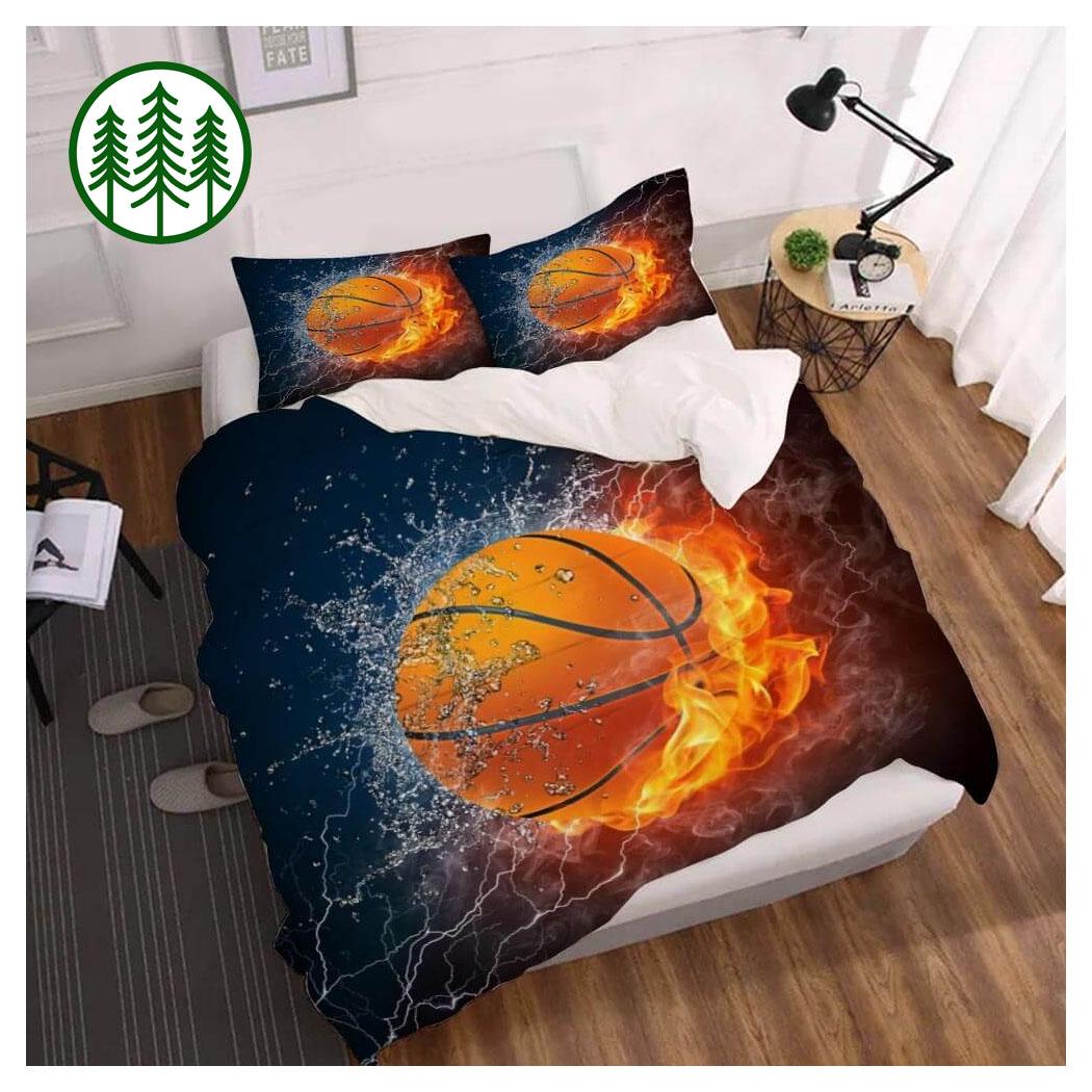 Dynamic Fire Water NBA Bedding Set