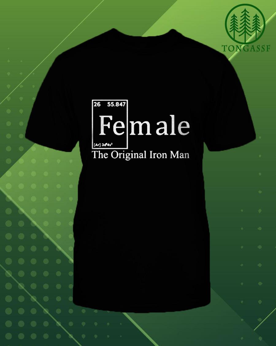 Female the original iron man