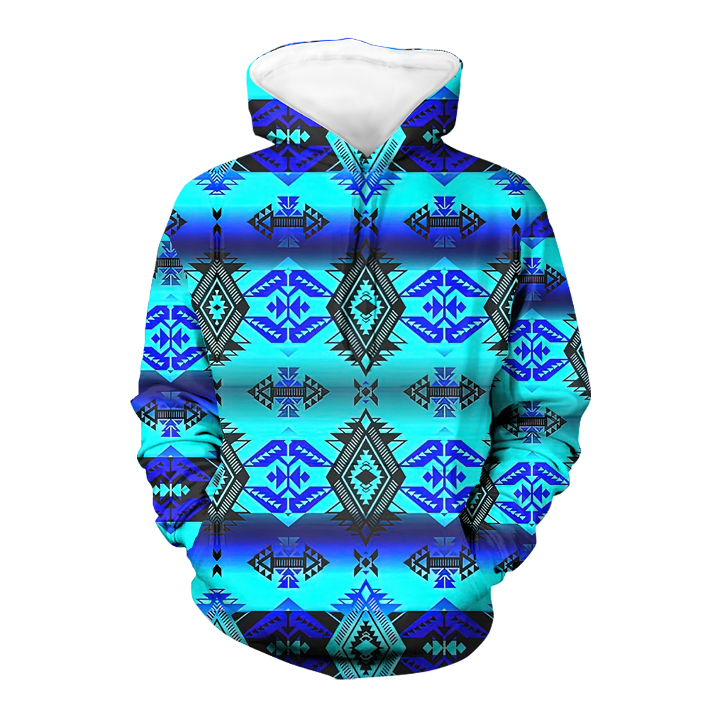 Sovereign Nation Native 3D Hoodie