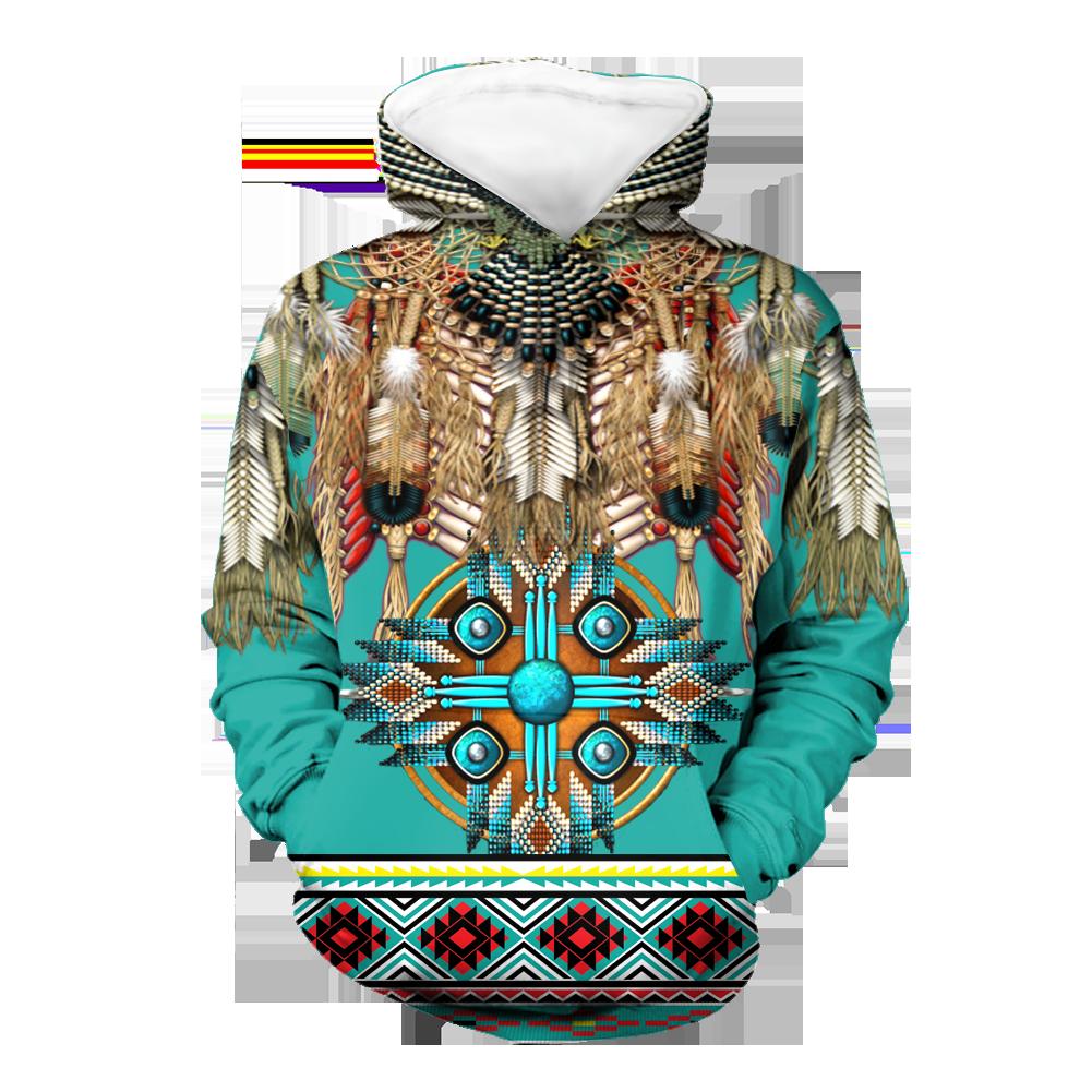 Pattern Mandala Native 3D Hoodie