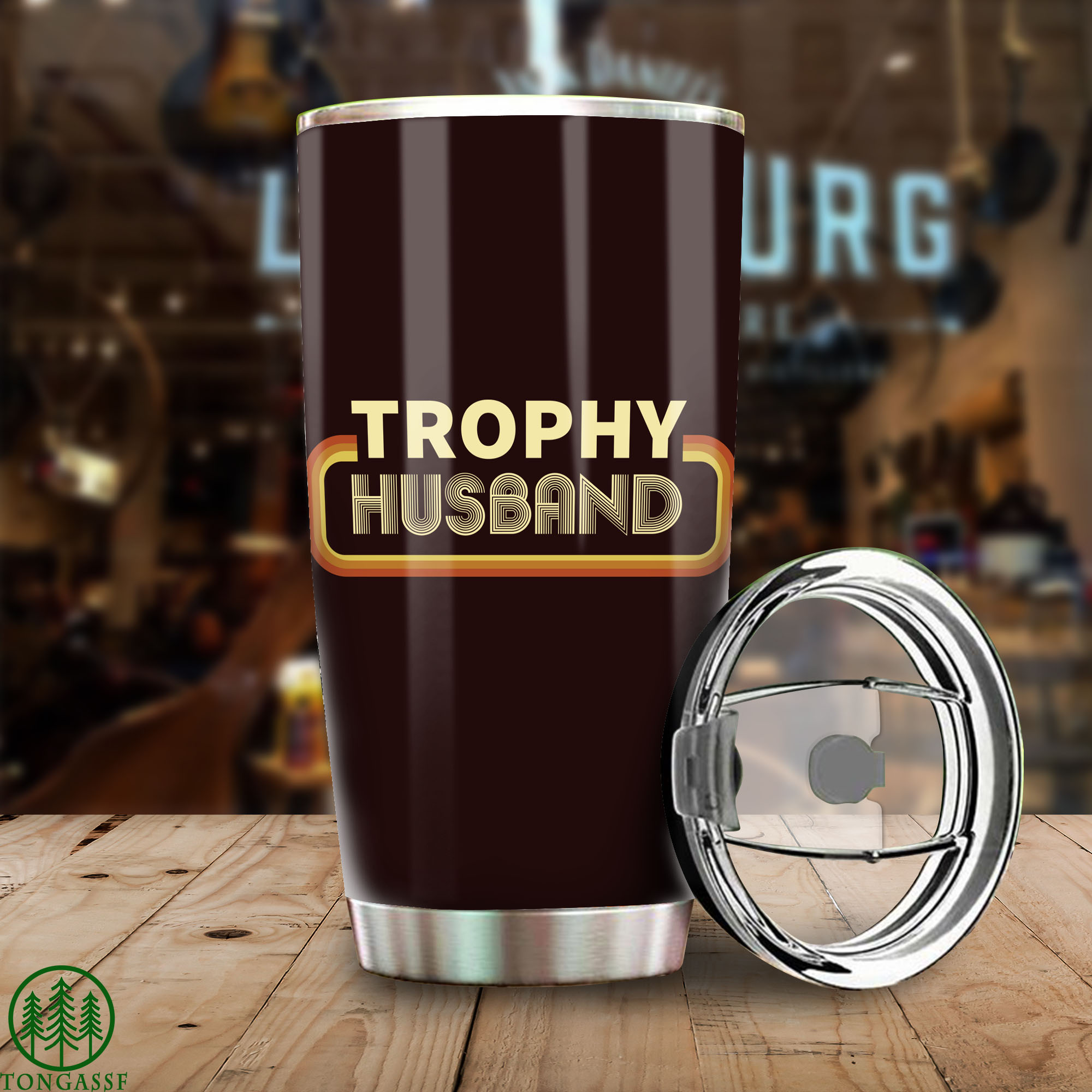 Graphic Trophy Husband gift for Father Tumbler