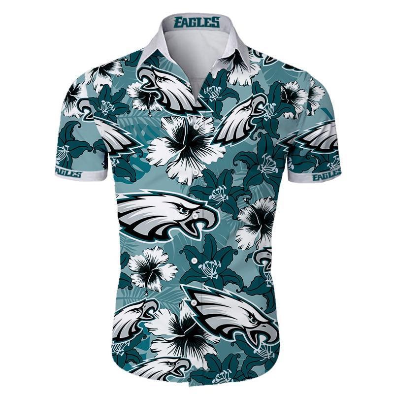 Philadelphia Eagles Hawaiian Shirt Men