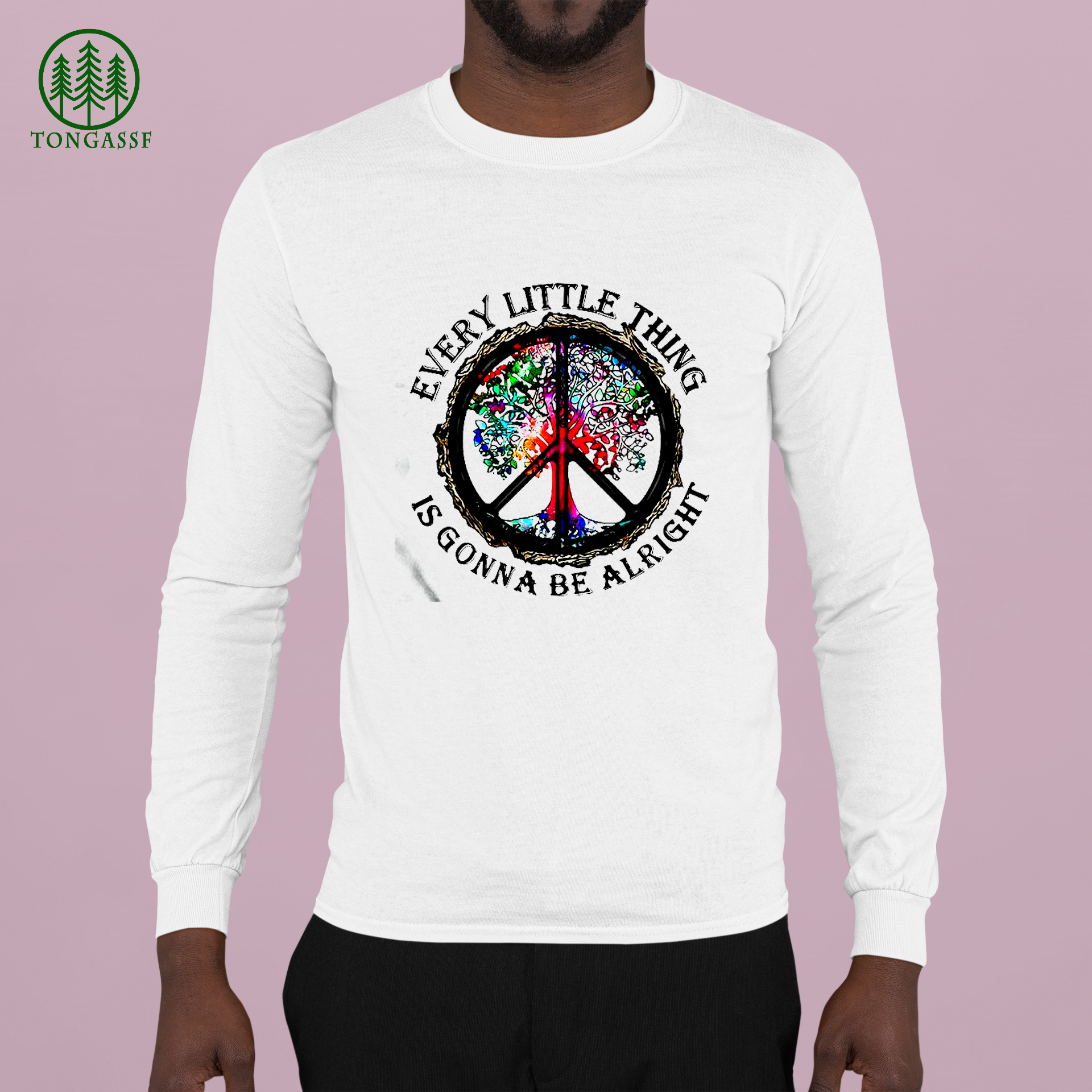 hippie tree every little thing is gonna be alright Shirt
