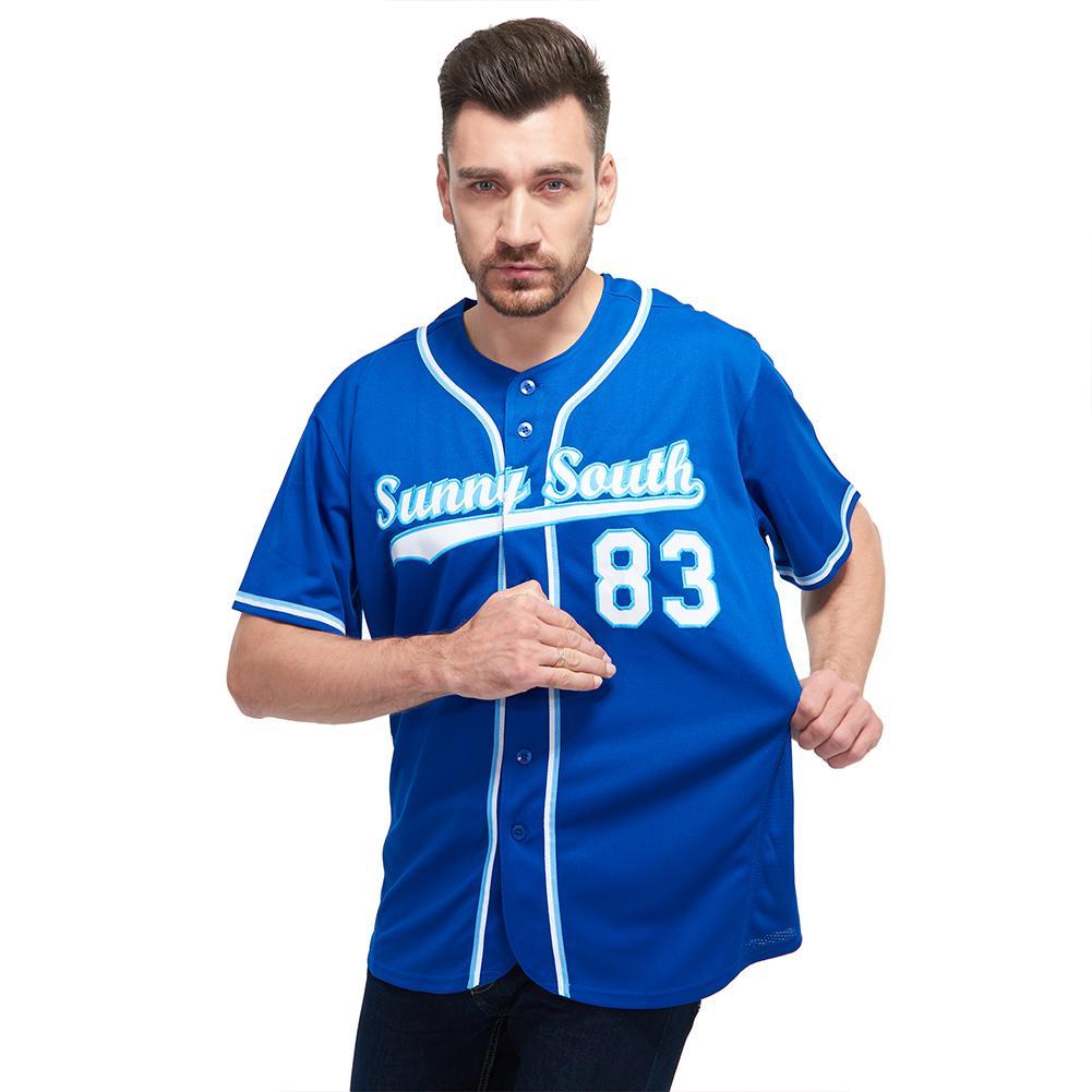 Custom Royal White-Light Blue Baseball Jersey Shirt for team