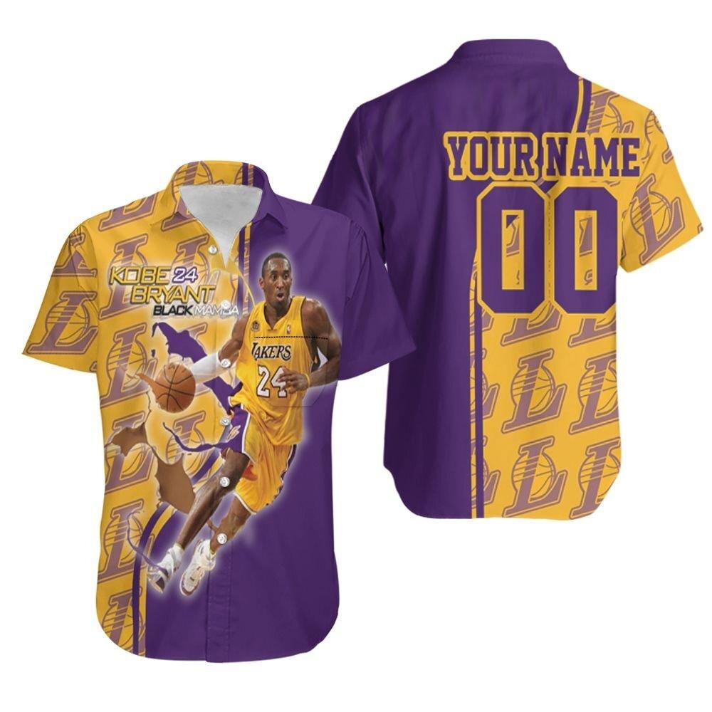 Legend Kobe Bryant 24 Los Angeles Lakers Nba Western Conference Personalized Hawaiian Shirt