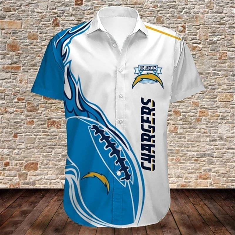 Los Angeles Chargers Hawaiian Shirts