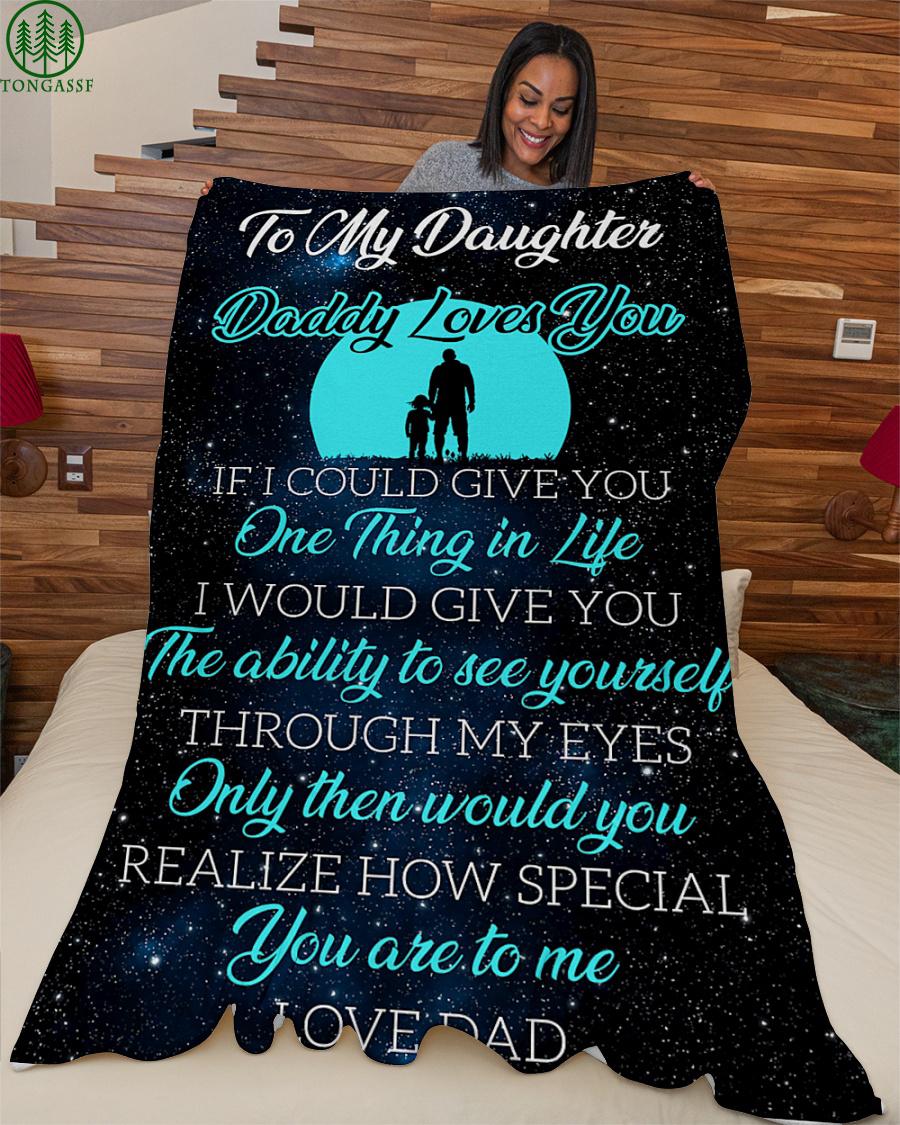 Love Daughter stars in Sight Sky fleece blanket